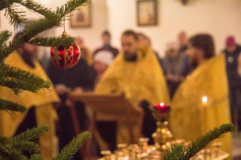 Новогодний молебен картинки