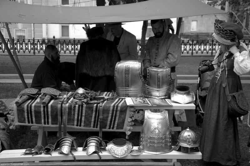 Фестиваль Времена и эпохи 2017. Москва, Тверской бульвар, Новопушкинский сквер