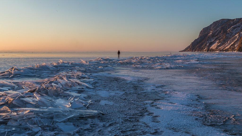 Байкал. Рассвет в Узурах