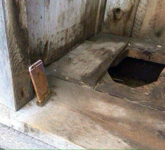 Сельский туалет. 16. Застрял в текстурах…