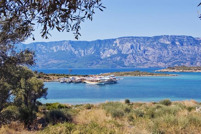 6. Олимпос, Чиралы Пляж Олимпос в Чиралы находится в эпицентре пляжного туризма Турции — на по
