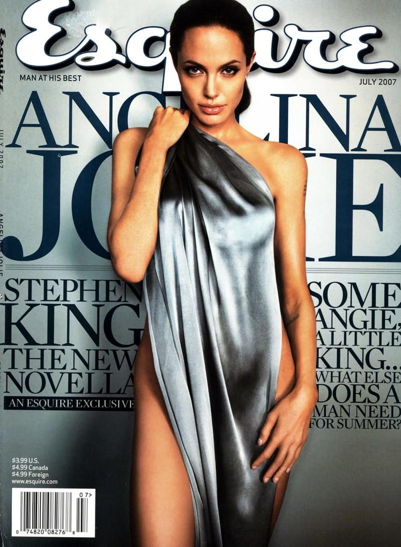 Это первая из двух обложек журнала Esquire в этой подборке. Это фото сделано в июле 2007 года, и оно