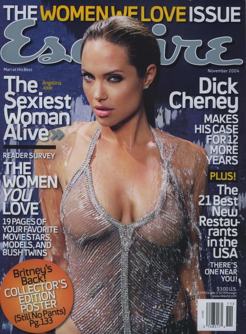 Обложка журнала Esquire ноября 2004 года выпуска…подзаголок