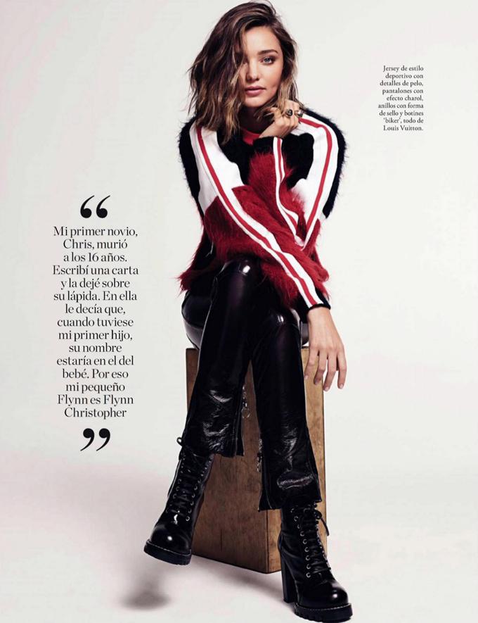 Миранда Керр на двух обложках Elle Spain
