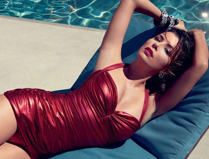 Ева Лонгория в Ocean Drive Magazine (6 фото)