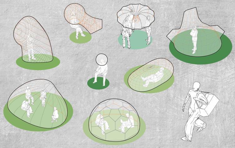 Воздушные карманы между слоями помогут создать ощущение изоляции. По планам Чжана, эти офисы будут с