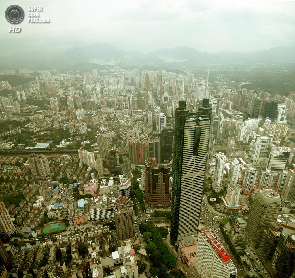 10. Башня «Сёньхин», Шэньчжэнь. Высота: 384 м. Введение в эксплуатацию: 1996 год. (trevor.patt)