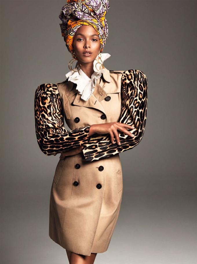 Лаис Рибейро для Vogue Brazil
