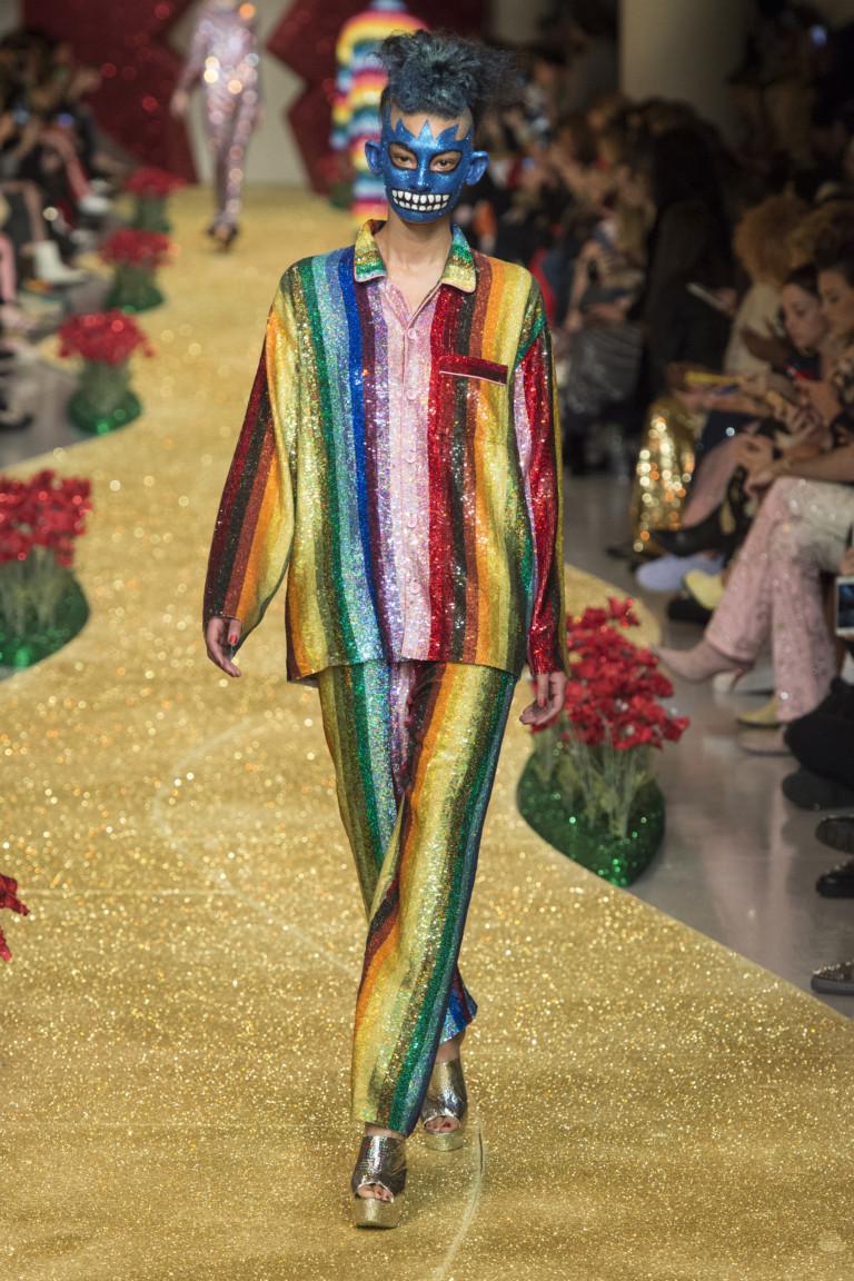 Неделя моды в Лондоне: Ashish