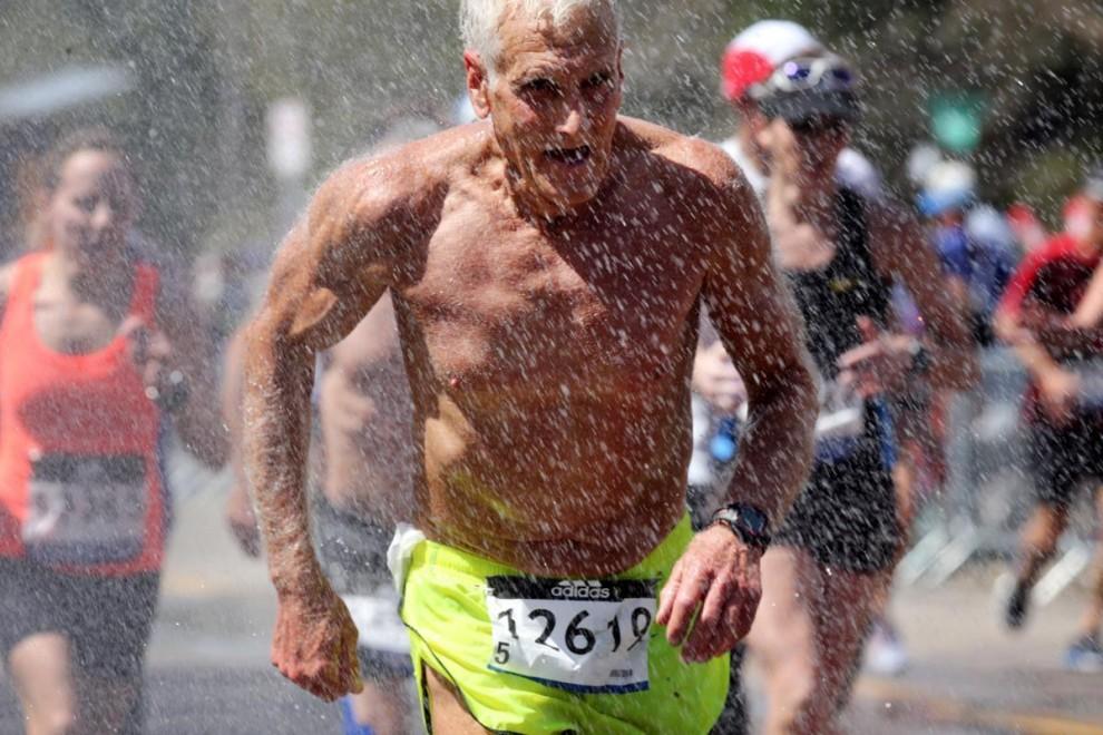 В США прошел 121-й Бостонский марафон