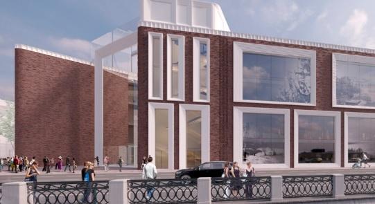 Заканчивается возведение монолитных конструкций надземной части музейного комплекса Третьяковской галереи