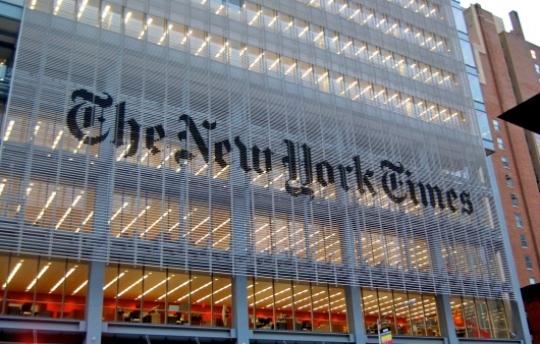 Взломанный «Твиттер» New York Times проинформировал оракетной атакеРФ наСША
