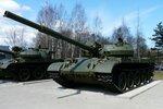 Площадка с послевоенными танками