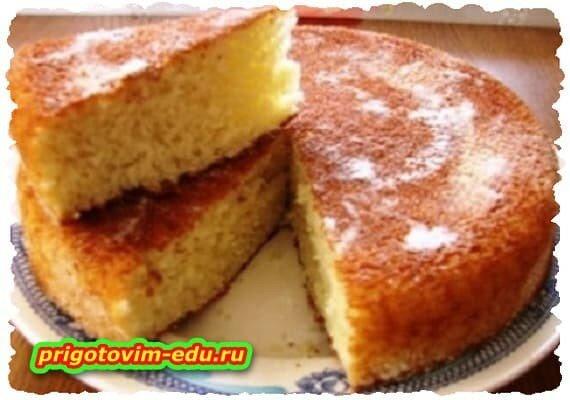 Манник на сметане сибирский. рецепт приготовления