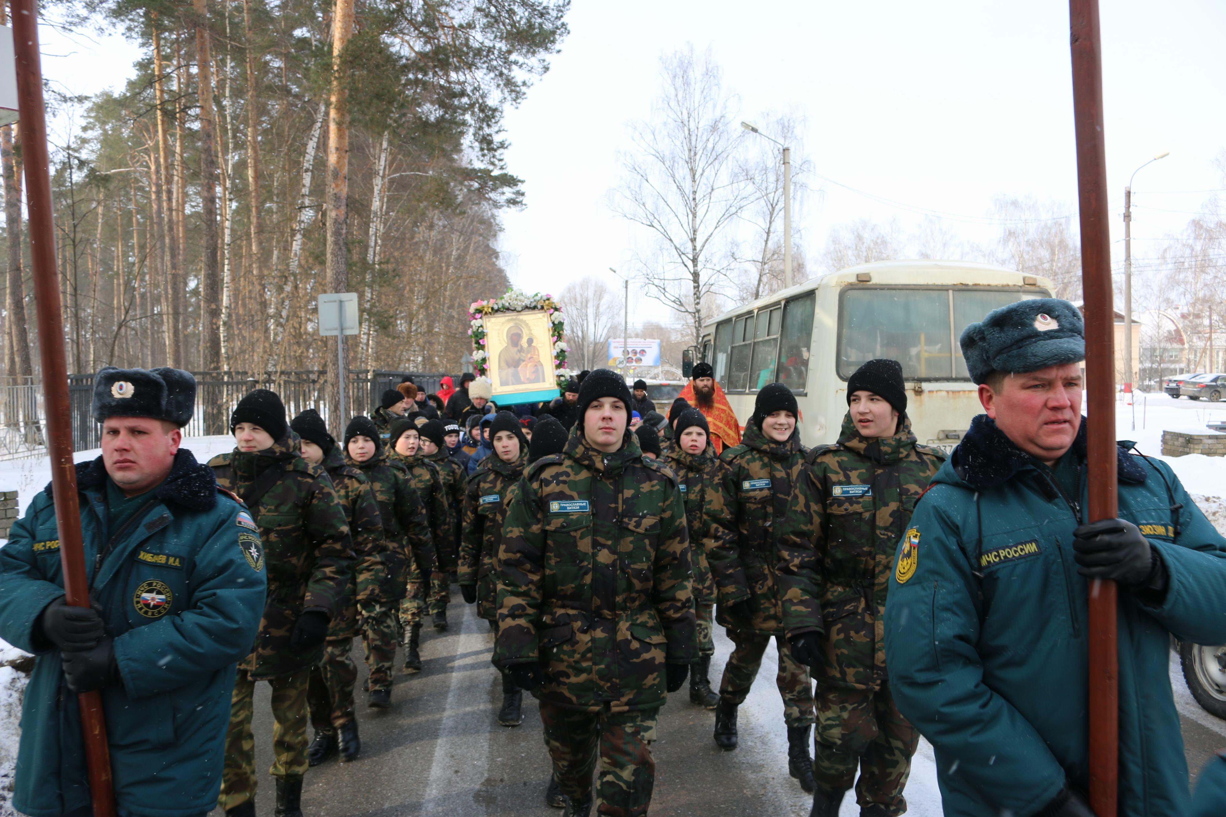 Крестный ход в день памяти новомучеников и исповедников Церкви Русской прошел в Выксе-12