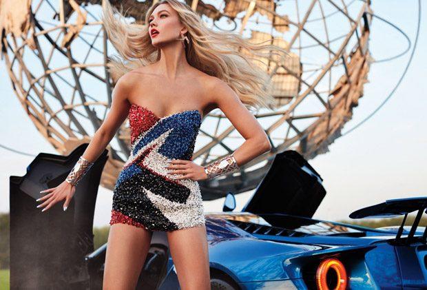 Superhero: Karlie Kloss Stars in the Cover Story of InStyle Magazine