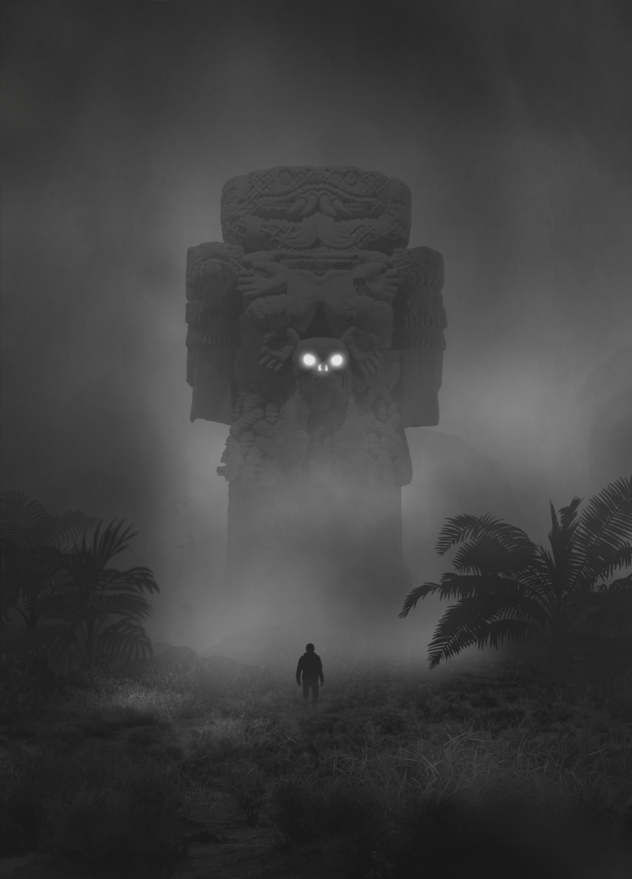 Mysterious Dark Paintings by Dawid Planeta