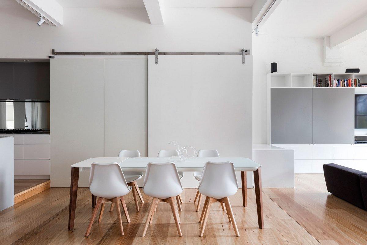 обеденная зона в квартире