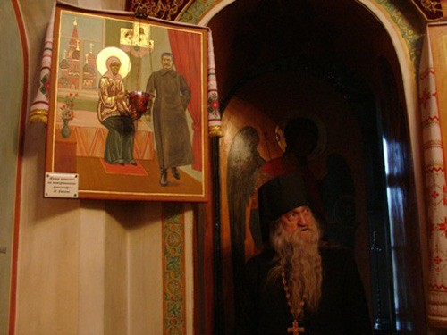 Святая Матрона и Сталин. Реальная икона-2.jpg