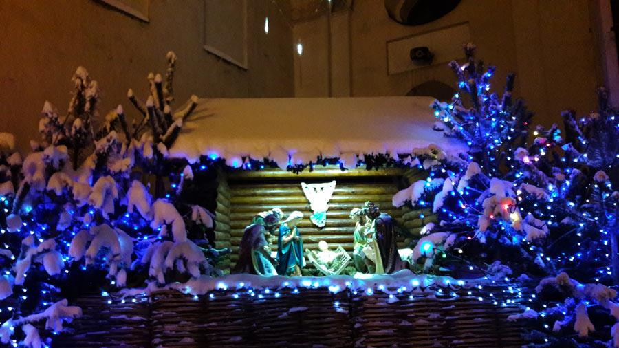 Новогодний Минск. Архикафедральный костёл Пресвятой Девы Марии