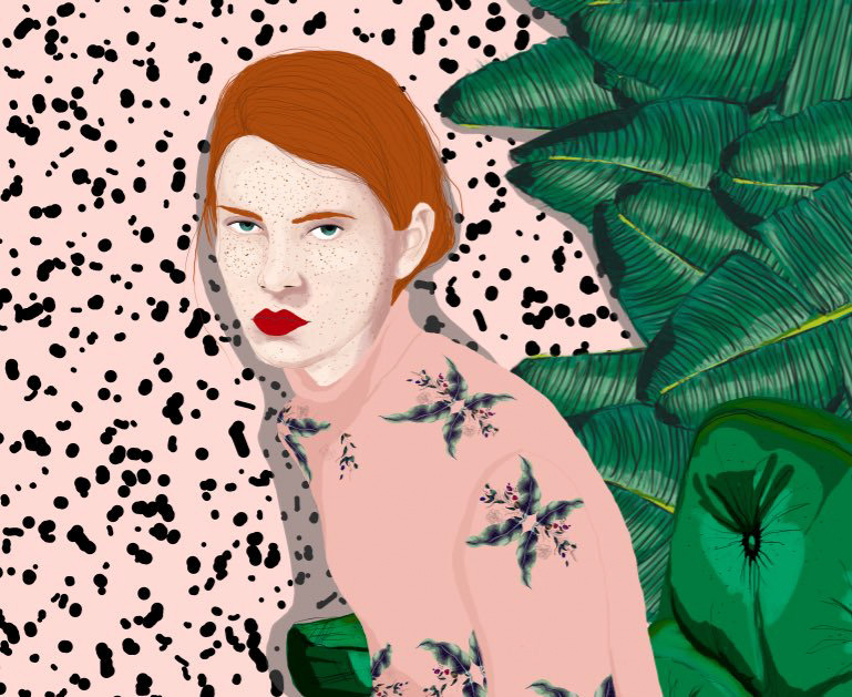 Charismatic and Alluring Women in Stefania Tejada Illustrations