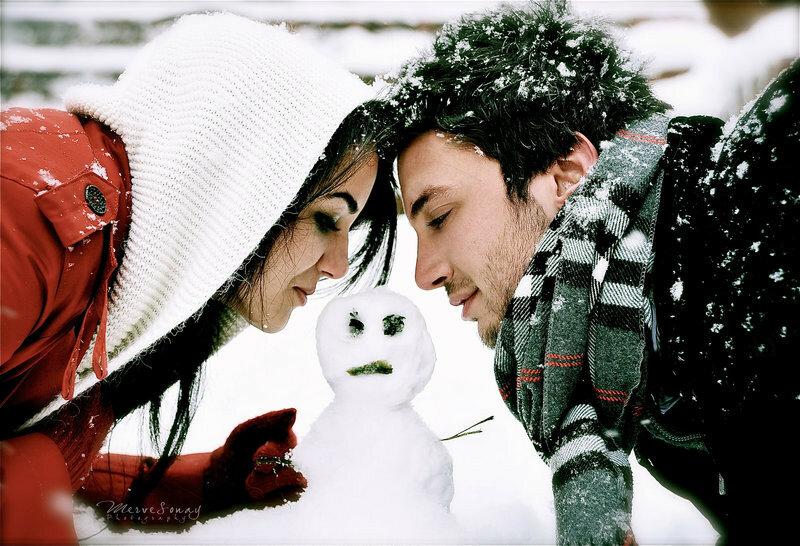 Картинки по запросу влюблённые зимой