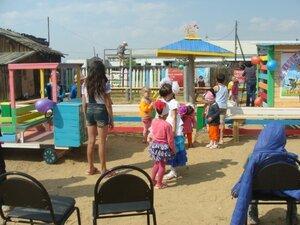 Открытие детской площадки на территории ТОС Центральный
