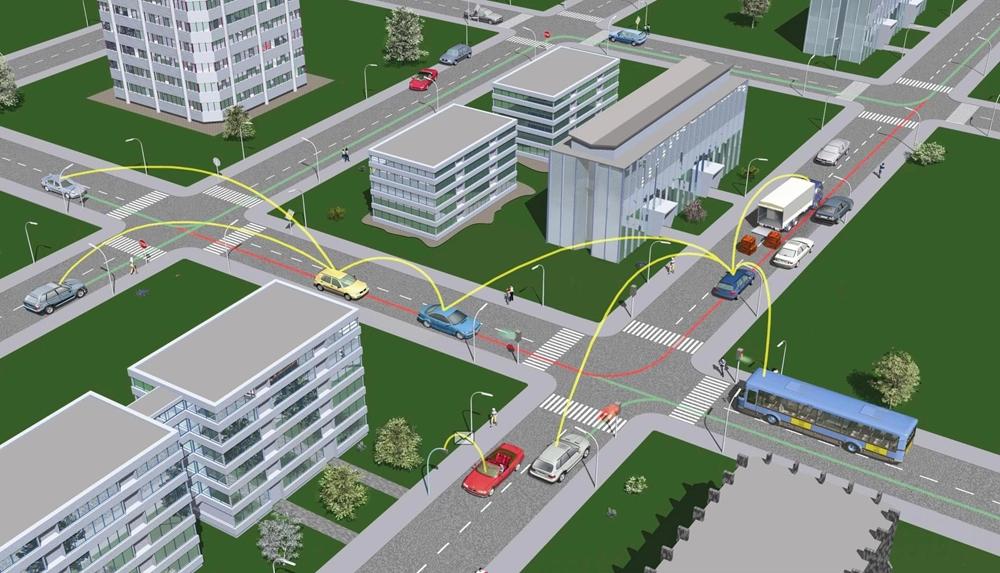 Технология Bosch V2V может снизить количество мото аварий на 1/3