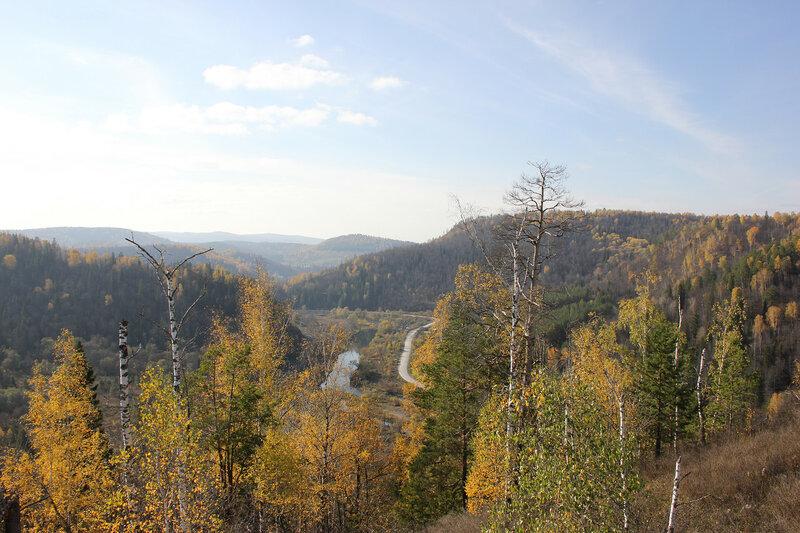 Горы Южного Урала. Леса
