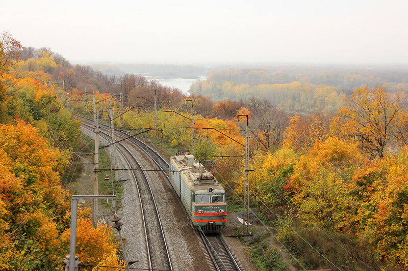 ВЛ10У-967 на перегоне Черниковка - Уфа
