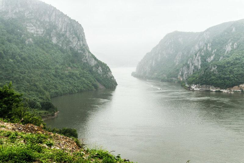 Джердапское ущелье, Железные Врата на Дунае