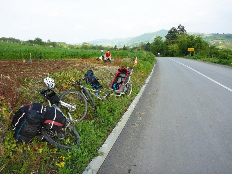отдых в велопоходе по сербии с ребенком