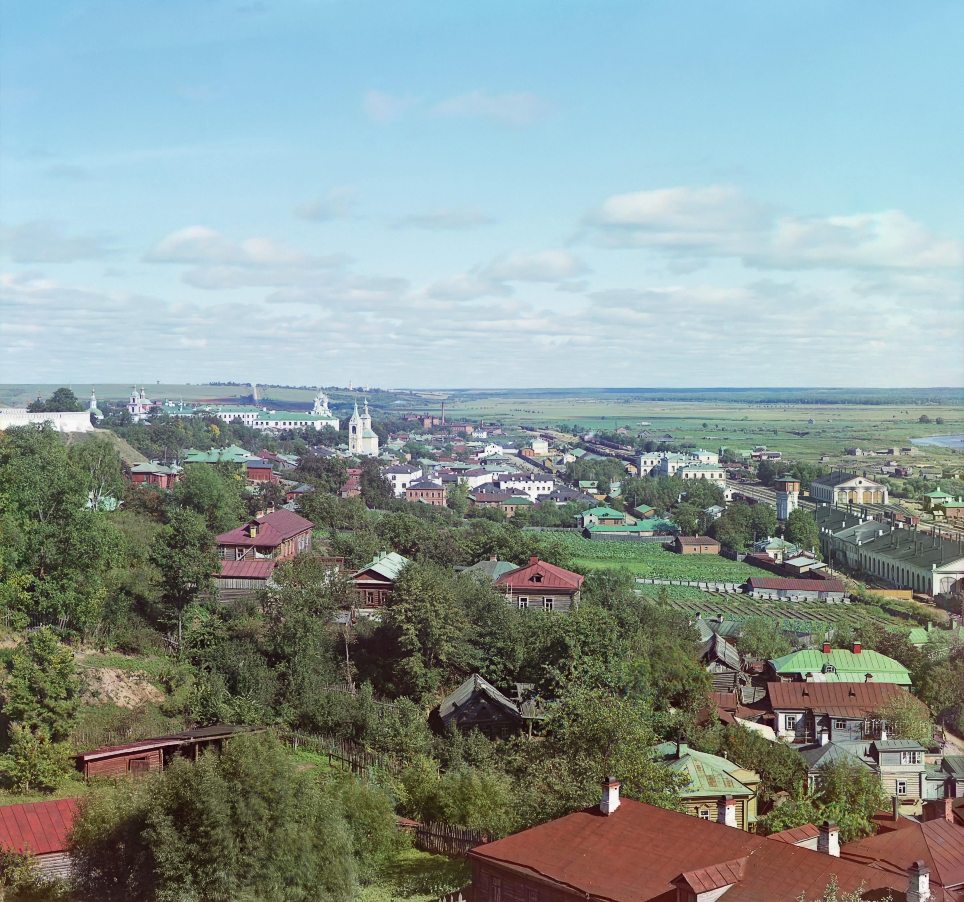 Вид от Успенского собора с юго-запада