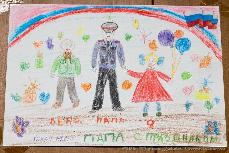 Рисунки детей полицейских машин