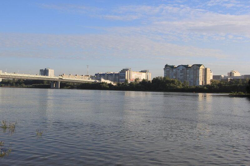 Вид на правый берег Иртыша