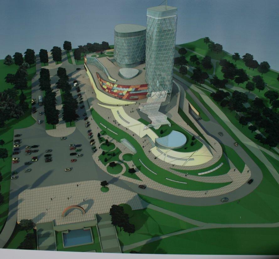 Запорожцам показали, как будет выглядеть «Радуга» и сквер перед театром им. Магара (ФОТО), фото-1