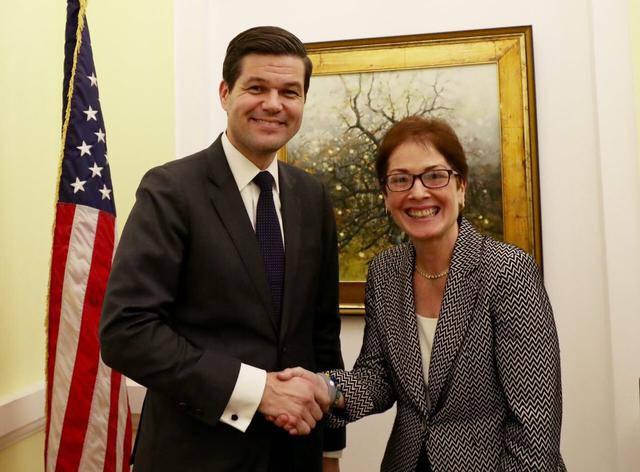 Помощник госсекретаря США по делам Европы и Евразии Митчелл прибыл в Киев. ФОТО