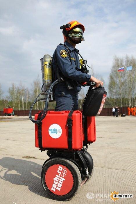 Пожарные пересядут на сигвеи