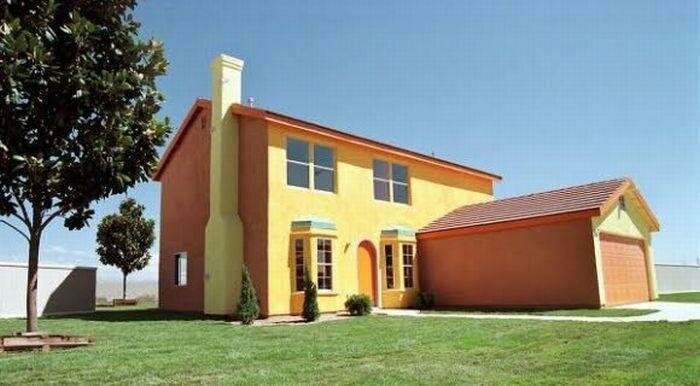 Дом Симпсонов (9 фото)