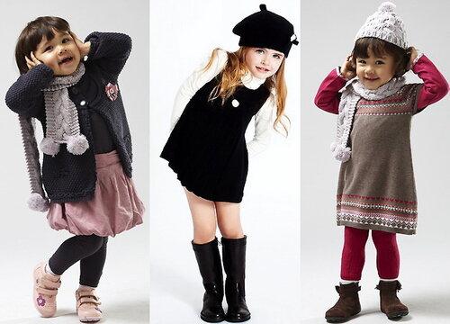 Одежда для девочек – учимся одеваться с детства