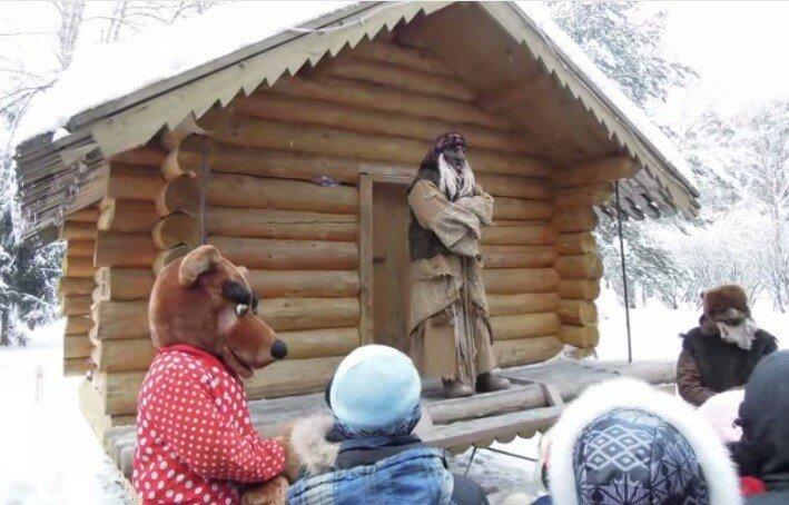Cтрашилки по-русски - в гости к Бабе Яге