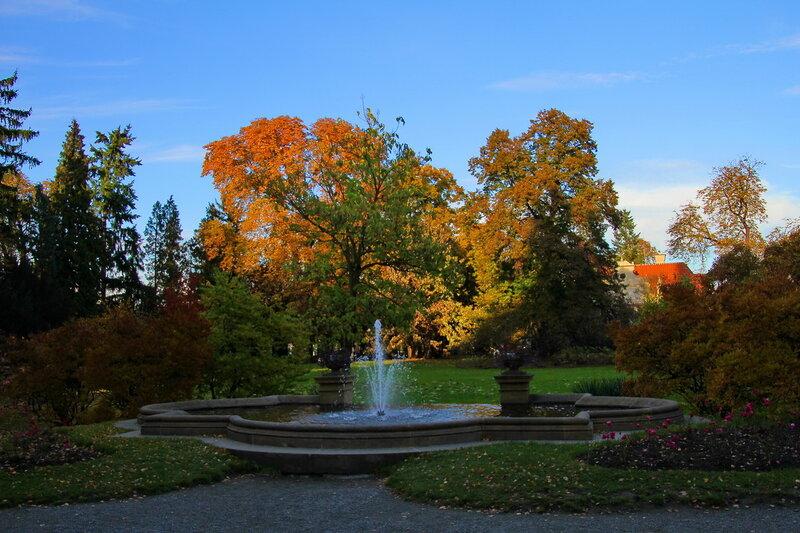 Průhonice_Парк и замок Пругоницы. Чехия