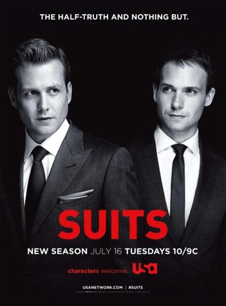 ������� � ������ / ����-������ / Suits (5 �����/2015/WEBDLRip)