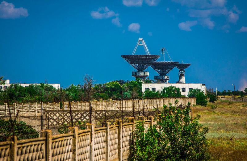 Радиотелескопы КТНА-200 и станция «КВАНТ-П»