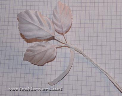 Как сделать розу из ткани с бутоном своими руками.