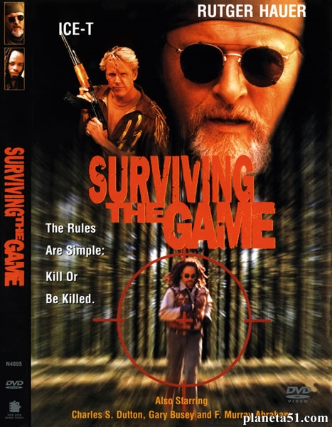 Игра на выживание / Surviving the Game (1994/DVDRip)