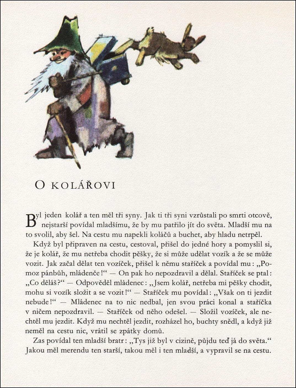 Adolf Zábranský, České a moravské pohádky