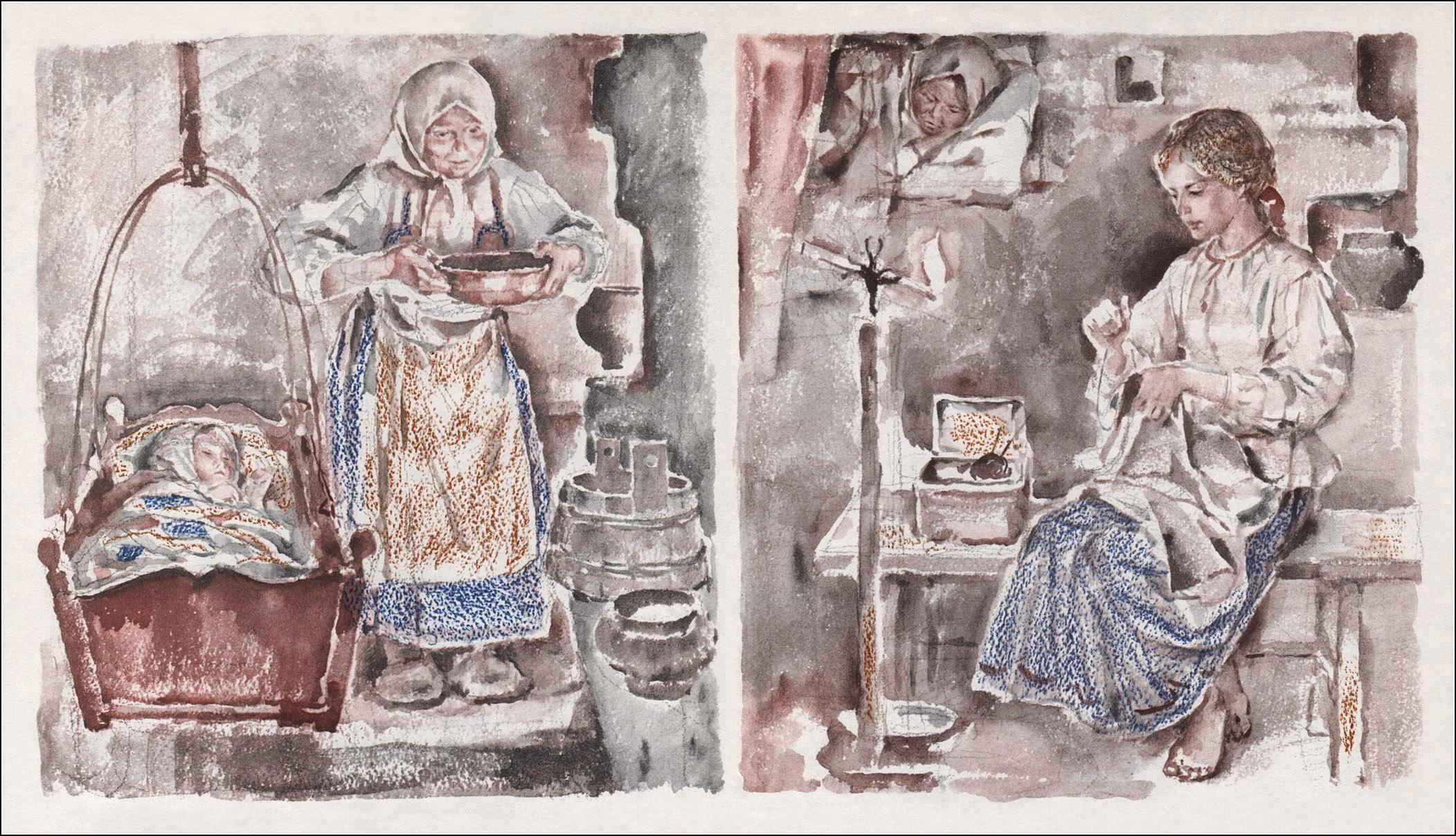 Л. Толстой, Рассказы, В. Бескаравайный