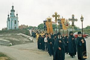 Освящение Александро-Невской часовни в с. Богородичное. 12.09.2005