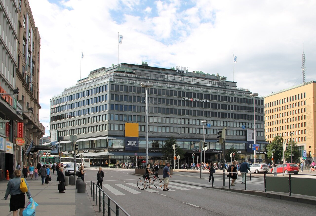 Хельсинки, проспект Маннергейма. Mannerheimintie